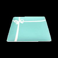 【皿】ブランド食器「ティファニー」ブルーボックスプレート